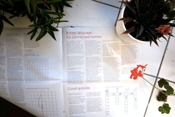 Newspaper of the Month: The Good Home, exploring connectivity in domestic spaces, by Alexandra Deschamps-Sonsino