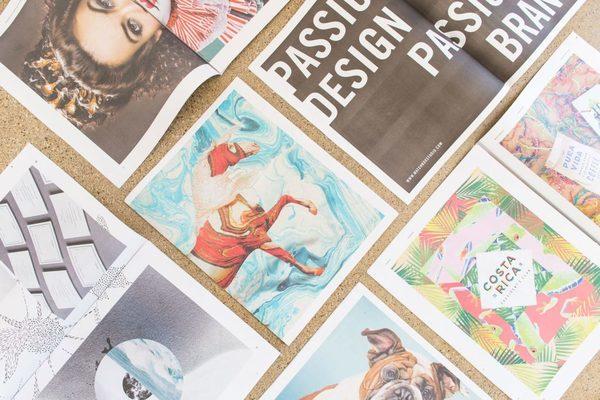 Matchbox Studio showcases visual design in a newspaper portfolio