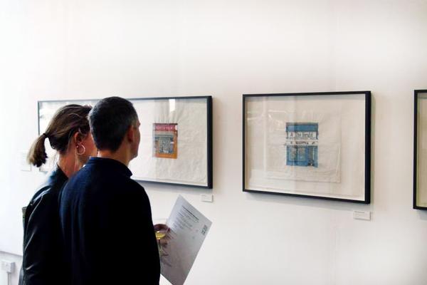 will knight glasgow newsagents illustartion exhibition