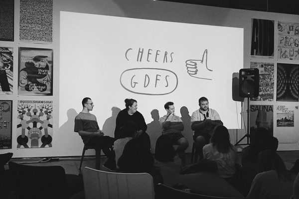 GDFS Awkward talk with Mr Bingo Will Hudson of It's Nice That