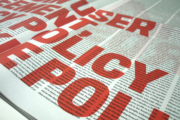 I Have (Not) Read Digital Broadsheet Newspaper